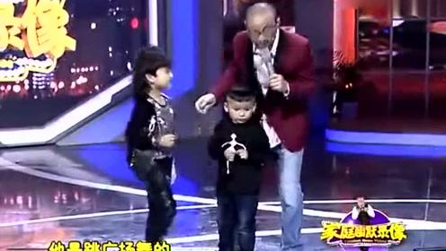 家庭幽默录像:4岁半萌娃跳广场舞,评委们笑得不行,太有才了!