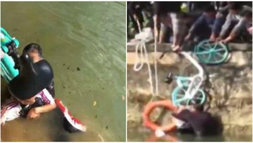 60岁大叔跳河救溺水小伙发现手机被偷:人命比手机值钱