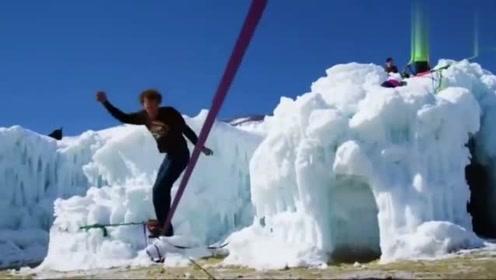 极限运动:一根绳玩出的极限运动