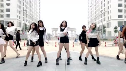 小姐姐们都太会跳舞了,看她们一起跳舞蹈《La La Love