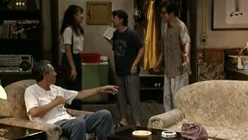 家里来客人,一个个都不想去开门,和平见到真人生气回卧室