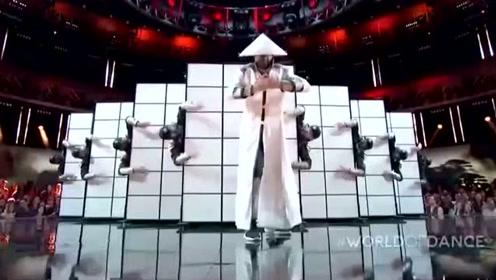 全程高能世界舞蹈大赛,Kinjaz晋级超炸现场!忍者风的舞蹈