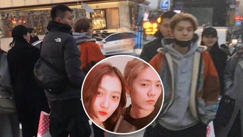 来自情人节的甜蜜暴击!网友韩国偶遇鹿晗关晓彤