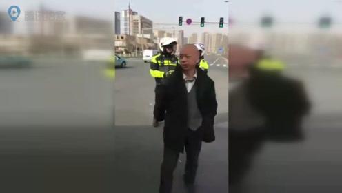 男子酒后驾驶电动三轮导致事故 还无理扬言殴打公交司机