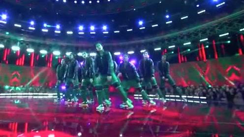 2019世界舞蹈大赛超酷炫的齐舞表演,感受一下现场的震撼!