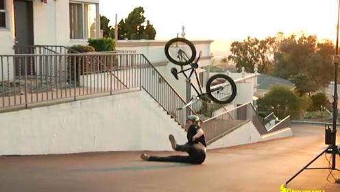 极限BMX小轮车杂耍 有时候连后悔的机会都没有