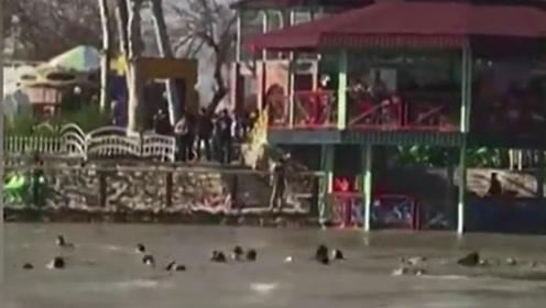 伊拉克一渡轮沉没致近100人遇难 外媒:他们本想乘船庆祝节日