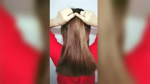 女生编一个小清新的发型,走在路上会吸引到别人的目光