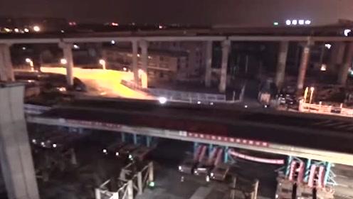 科技探秘:1小时内将3050吨桥梁段移动35米!也就中国有这样的能耐