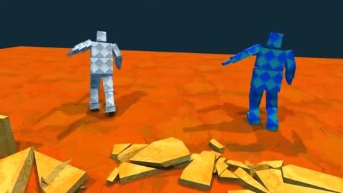 屌德斯解说:搞怪的相扑,两个小人的搞笑搏斗