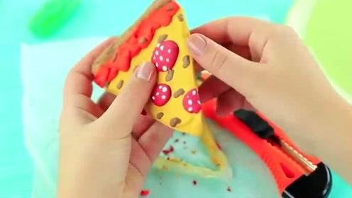 食物恶作剧:闺蜜竟然把三明治拿去画画,她是不是头脑犯浑了