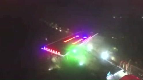 14000吨!国内最大最重跨公铁双线转体桥成功转体
