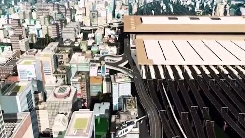 中国建造世界上最大的火车站,比五十个天安门还要大