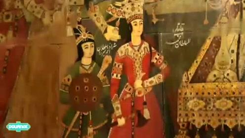 神秘的壁画,充满地方文化特色