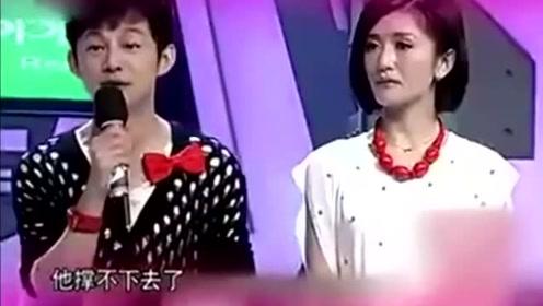 张杰谢娜第一次分手,俩人痛哭流泪,何炅跟着哽咽!