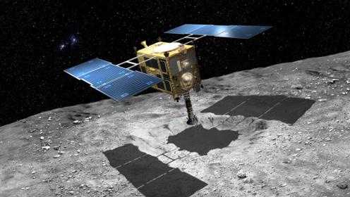 """日本探测器对小行星动手了,每秒300米撞击,在太空""""暴力采矿"""""""