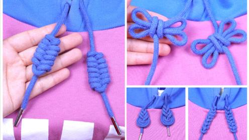衣服一根绳子系法图解