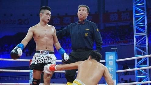 中国猛将抱摔日本拳王,精彩程度堪比顶级比赛!
