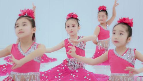 少儿舞蹈《傣家的小妹走过来》可爱、天真是孩子们最好的礼物!