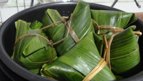 煮粽子是用凉水还是热水?难怪粽子松散不熟