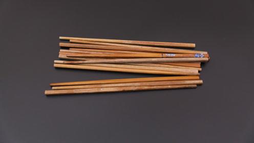 你家有废旧不用的筷子吗?这样改造放阳台特别值钱,快回家找找