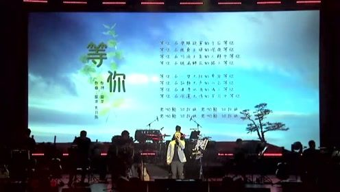 庞龙沈阳演唱会新歌首唱《等你》片段