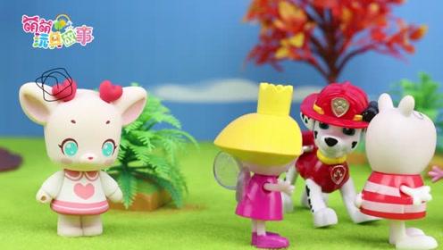 《萌萌玩具故事》夏天到了,佩奇和小伙伴们一起寻找夏天的足迹