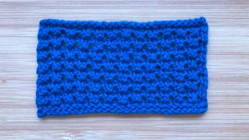 棒针编织儿童背心花样,立体精致,简单易织