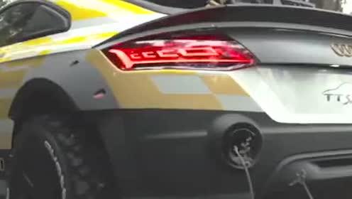 奥迪TT改装拉力风格!