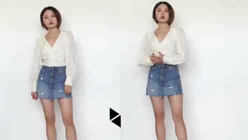 显高显瘦的穿搭技巧 小个子时髦大升级