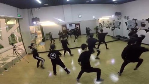 Hiphop swag编舞,中枪舞,超好看