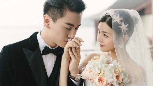 """""""陈晓是陪伴我走到最后的人!""""陈妍希力证生活幸福破离婚传闻"""