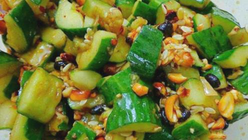 饭店凉拌黄瓜为什么特别好吃?原来是有这个窍门,最后一步很重要