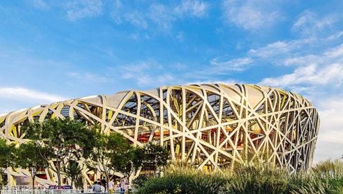 忆回08年,温馨的鸟巢,建成时是世界上最大的钢结构建筑物