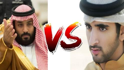 迪拜王子VS沙特王子,到底谁才是豪车之王?黄金车队服气!