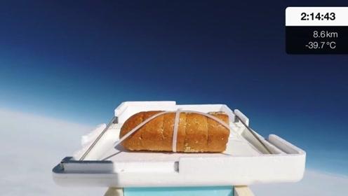 老外不仅爱吃大蒜面包,还要送上太空?这是准备让面包变异?