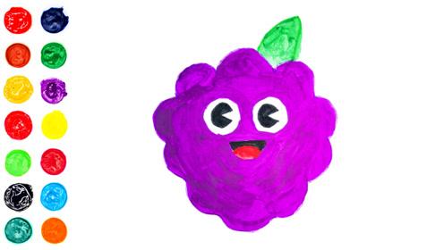 树莓派的画法和填色,解压上色