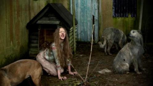 乌克兰弃婴女被狗养大,喝狗奶长到8岁,长大后还想继续当狗!