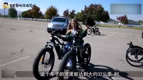 小伙为女友打造越野轮椅,使用特斯拉轮胎,网友:是真爱了!