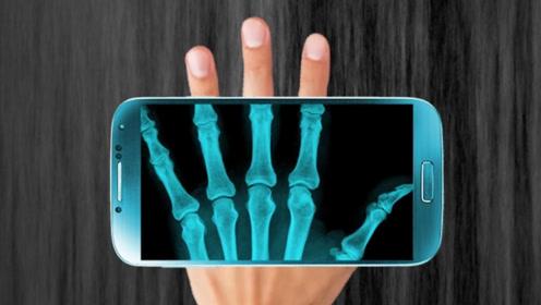 """教你开启手机""""X光透视""""功能,屏幕秒变扫描仪,实用又方便"""