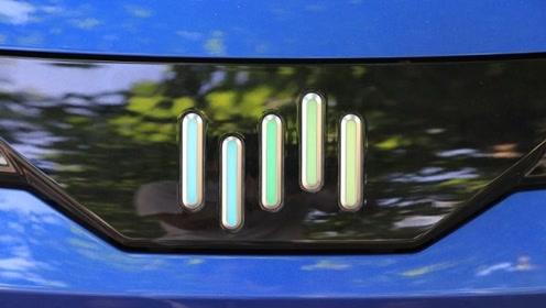 车标显示电量?威马EX5有点意思