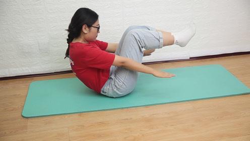 三伏天是减肥的好时候,每天坚持1个动作,体重慢慢减下来
