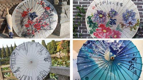 心理测试:选一款你喜欢的油纸伞,测你是不是个有魅力的人