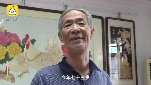传承超百年!7旬老人一家用麦秸作画万物:怕民间手艺丢失
