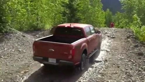新款福特Ranger到货,开出来试了试,感觉越野性能非常完美
