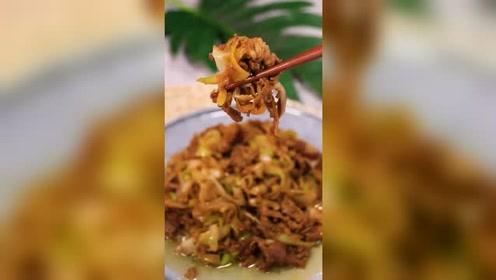 葱爆羊肉美食小吃,正确做法竟如此美味,请问你们喜欢吗