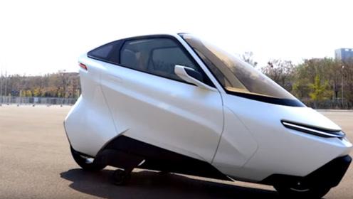 外国研发单人汽车,最快时速只有60千米,百公里油耗不到2升!