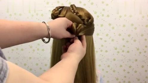 夏天怕热头发怎么扎?试试这款发型,巨减龄