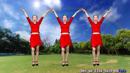 经典老歌新跳广场舞《女人心》新创入门32步附分解,适合初学者