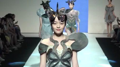 时尚潮流T台秀,时装个性潮流,十分创意